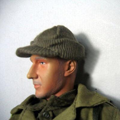 "1//6 World War II US Solider Woolen Hat Cap Modle For 12/"" Action Figure Hot Toys"