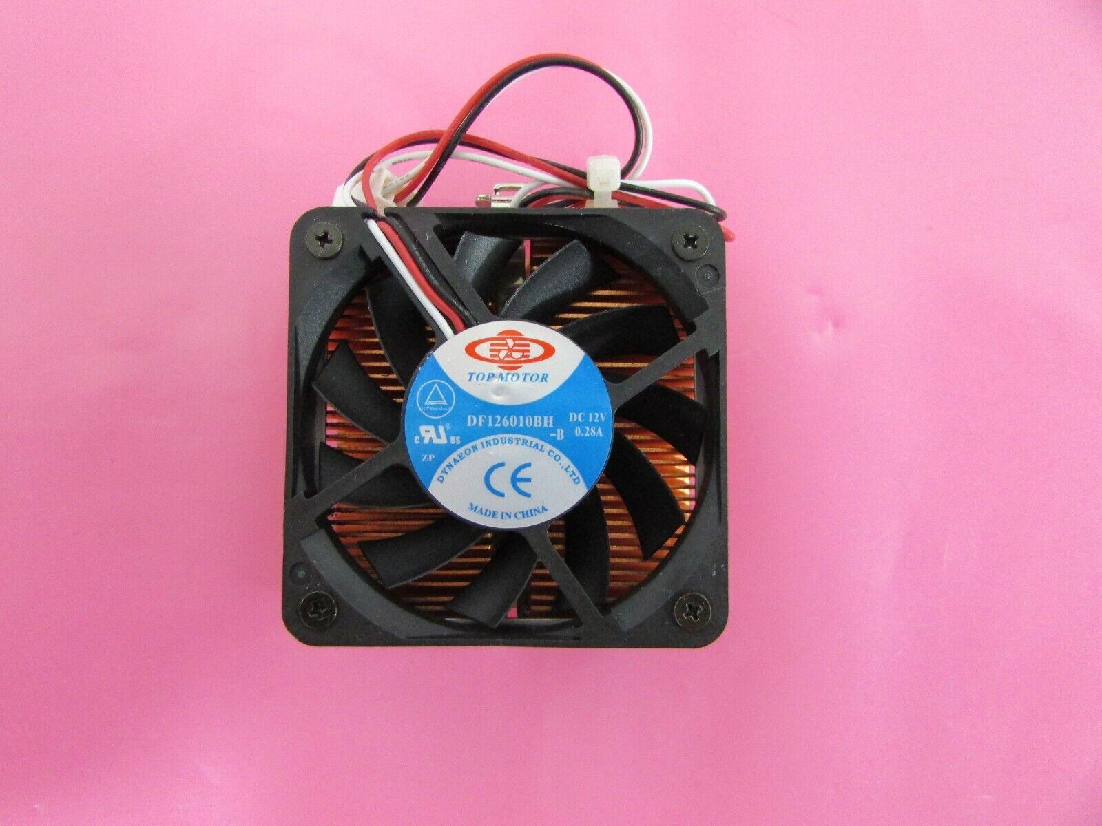 Dynatron Top Motor DF126010BH 60mm 3-Pin CPU Cooling Case Fan/Heatsink CF-512