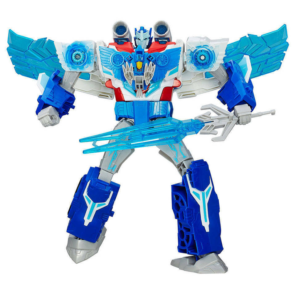 Transformers Power Serge Optimus Prime Action Figure Toy R Us Exclusive
