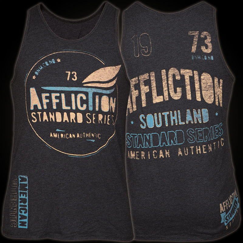 AFFLICTION Tank Top Exchange Rate Herren  affliction shirt Tops