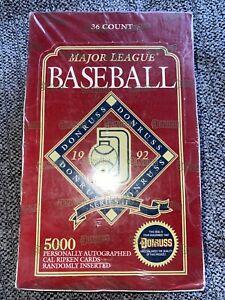 1992-Donruss-major-league-baseball-series-2-factory-sealed-box