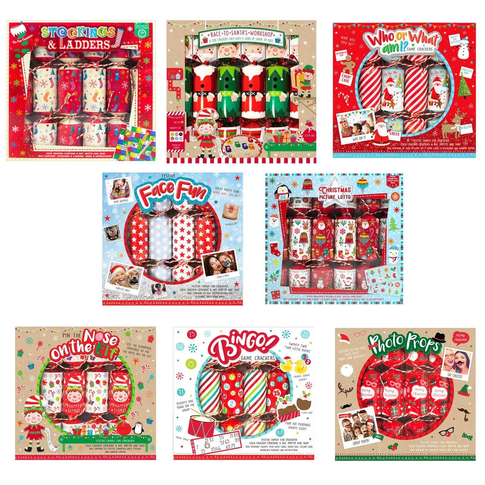 Paquete De 6 Juego De Novedad Navidad Galletas-Elegir Diseño