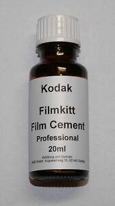 Kodak-Professional-Super-8-Filmkitt-Filmkleber-Kodak-Film-Cement-20ml