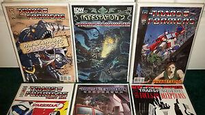 Transformers Idw Maximum Dinobots 1-5 Infestation 2 Cible du continuum de la dévastation