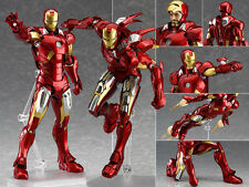 Marvel's The Avengers figma EX-018 Iron Man Mark 7 VII Figur Figuren No Box
