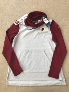 Washington-Redskins-Under-Armour-Combine-Authentic-Hoodie-Women-039-s-M-XL-MSRP-80