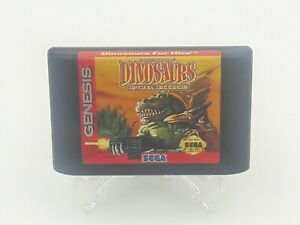 Dinosaurs-For-Hire-Sega-Game-Authentic-Original-Cleaned-Tested-Genesis