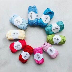 500g-100-Mercerised-Egyptian-cotton-dk-yarn-gift-set-Oeko-Tex-amigurumi-10-pcs