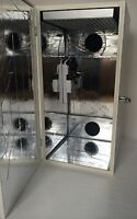 Led Grow Box Stealth Cabinet Dirt Or Hydroponic Carbon Filter