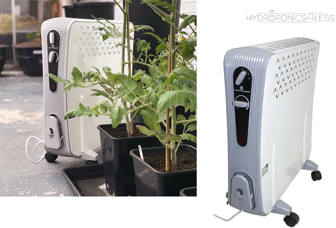 FARO 2500W OLIO GRATIS RADIATORE Idroponica riscaldonnato per tenda Grow Room