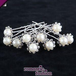 10x-Haarnadeln-Kopfschmuck-m-Strass-Perlen-NEU-SOFORT