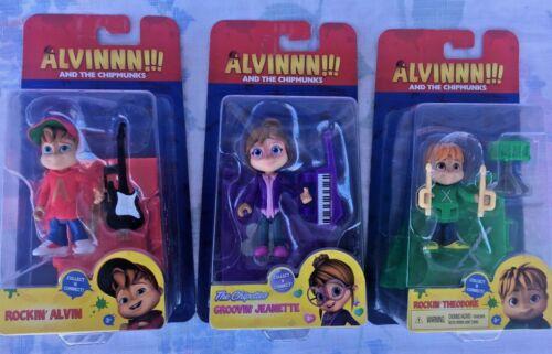 Alvin /& Jeanette Action Figure-New-Vous Choisissez Alvinnn /& le Chipmunks-Theodore