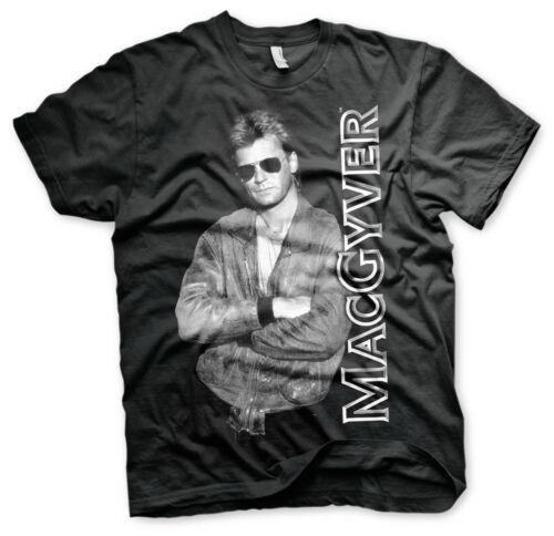 Officially Licensed Macgyver Cool Macgyver BIG /& TALL 3XL,4XL,5XL Men T-Shirt