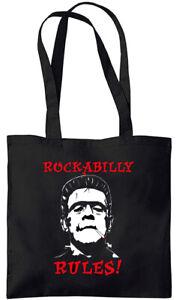 Rockabilly Rules! - Frankenstein - Tote Bag (Jarod Art Design)