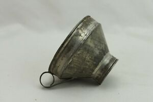 Tin-Flower-Sifting-Funnel-With-Loop-Handle-Vintage