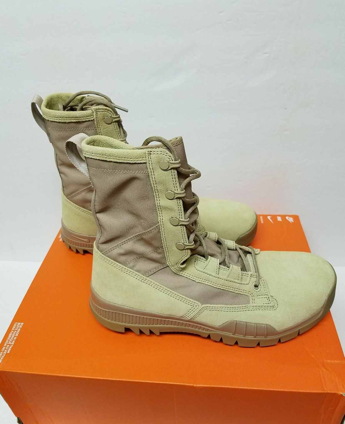 Nike SFB Special Field 8  Leather Sz 11, 12, 12.5 & 14 Khaki 688974 200