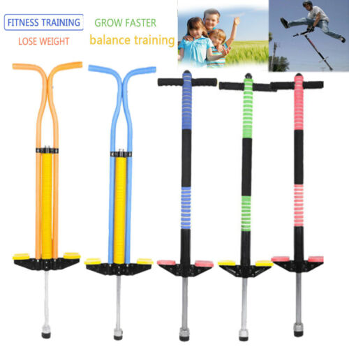 Pogo Stick Spring Powered Game Outdoor Garden Camping Picnic for Boy Girl Kids