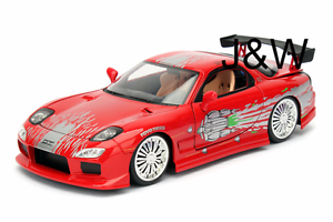 Jada Mazda RX7 Dom's Fast and Furious 1/24 98338 742415960745   eBay