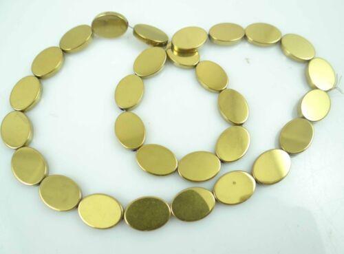 10*14mm Titanium Multicolored Hematite Gemstone oval Beads 16/'/'