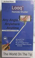 Looq Remote Shutter For Smart Phone Any Angle Pole Extends 23