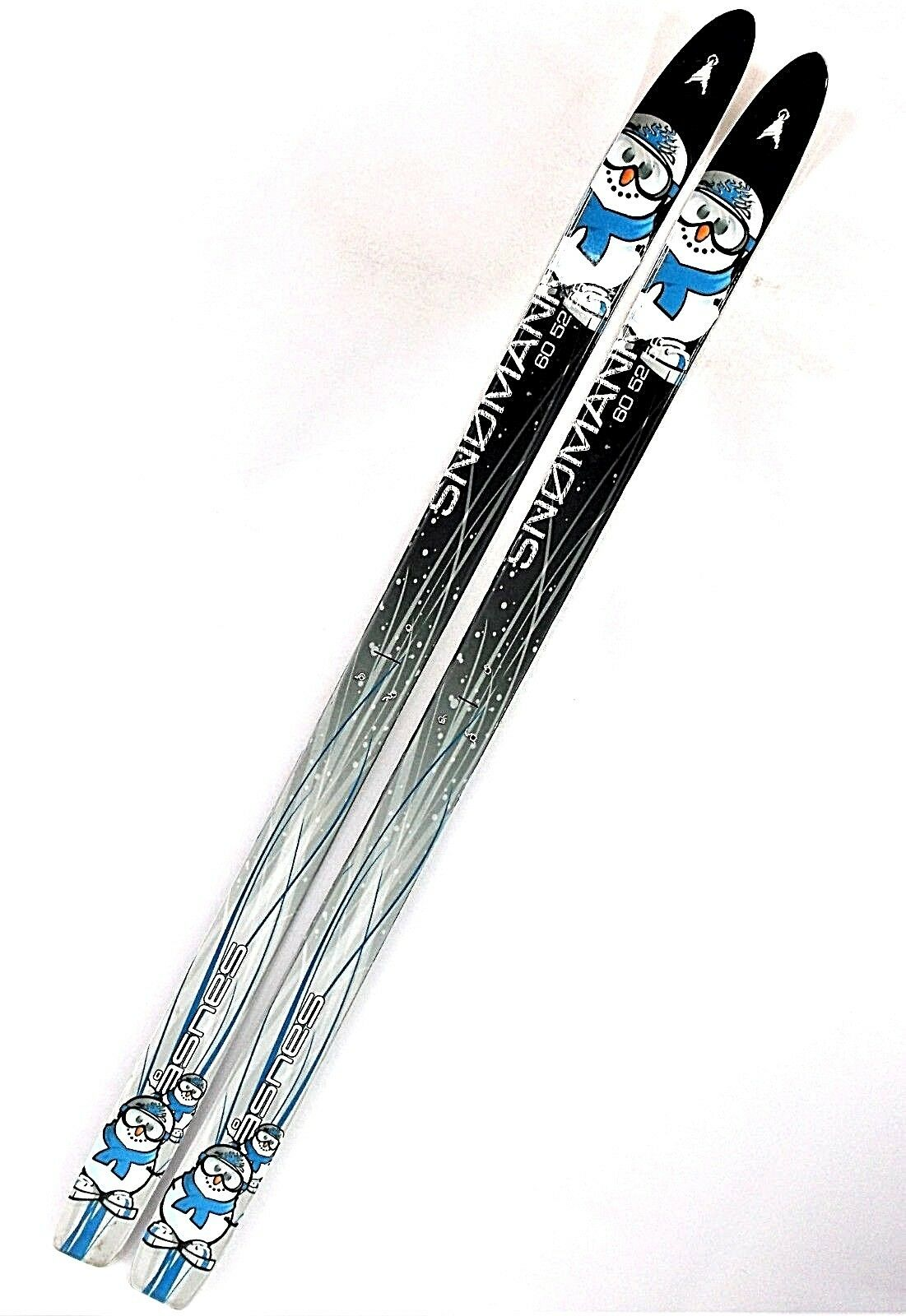Asnes Asnes Asnes Snowman Unmounted Kids 120 cm Waxless Fishscaled Cross Country Skis NEW f6d451