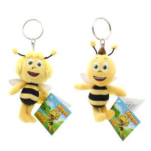 ORIGINAL Biene Maja Plüsch Schlüsselanhän<wbr/>ger Anhänger Stofftier Maya Willi 11cm