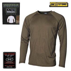 Maglia-Termica-MFH-Underwear-Level-1-GEN-III-Intimo-Termico-Caccia-Militare-OD