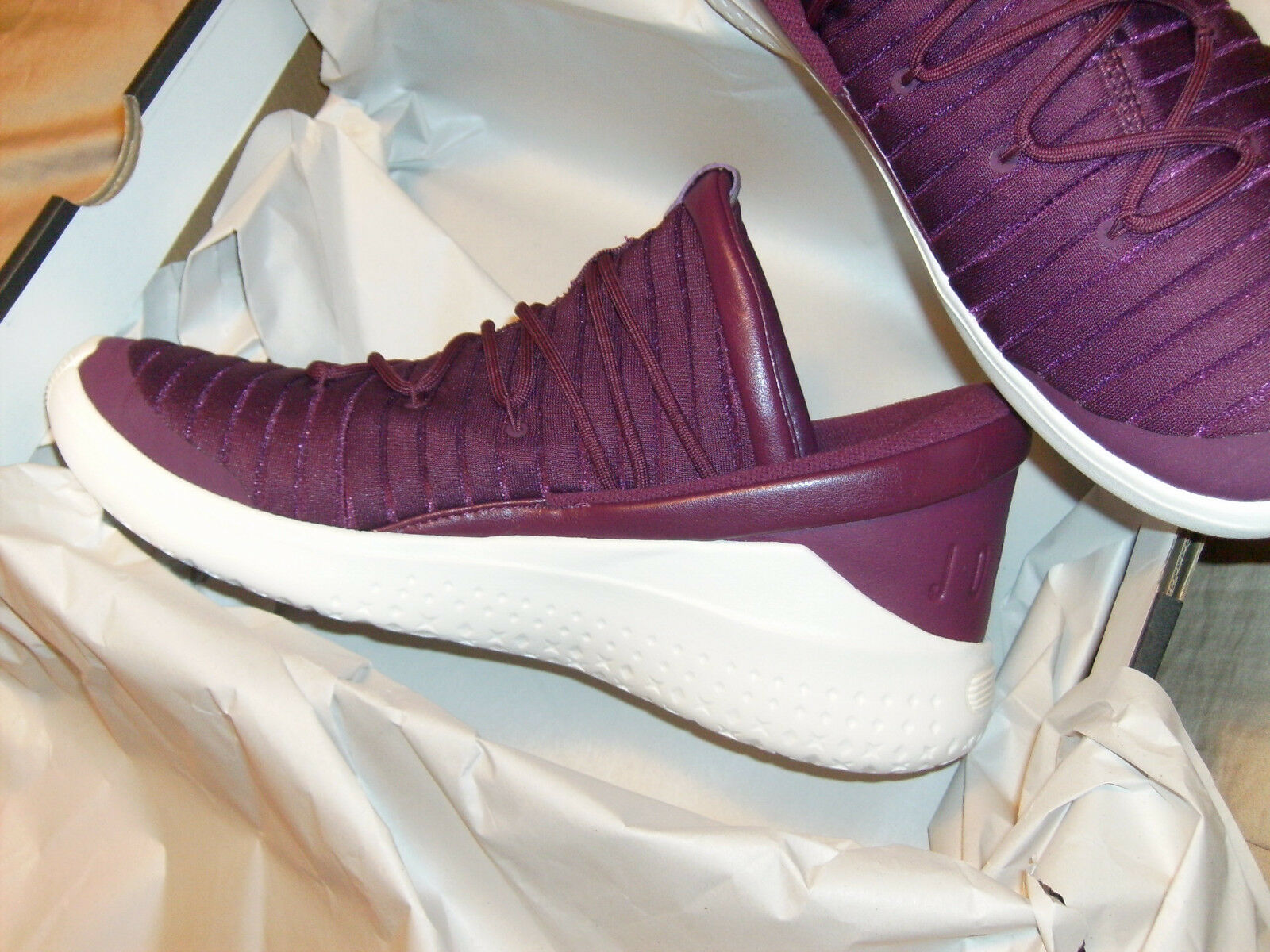 BRAND NEW JORDAN FLIGHT LUXE SZ 10.5 BOEDEAUX WINE BERRY 919175 637 MIDTOP