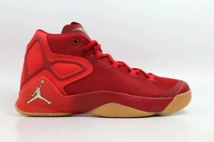 12cf7cf258b7 Details about Nike Jordan Melo M12 Big Apple 11.5 XII Men Basketball Shoes  Gym Red Gum Yellow