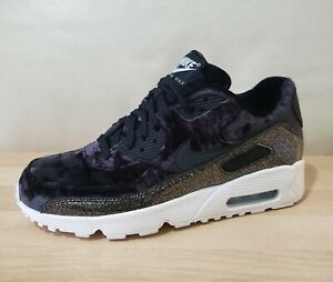 Details about Nike Air Max 90 Pinnacle QS GS Velvet Athletic Shoes AH8287 001 Ornament