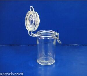 Details zu 12 büchsen glas hermetisch ideen hochzeit konfetti bonboniere  zum selber machen