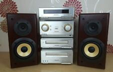 Technics Midi Stacking System SE-HD350 Amplifier CD Cassette Tuner Speakers 60W