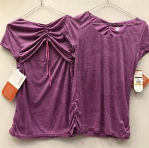 ce01d825dd Details about BOGOF -Merrell Women's Top - Activity Cinch Tee shirt - Iris  Print