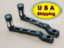 CNC Edge Cut Heel/Toe Shift Lever Shifter Peg For Harley Touring Softail Glide
