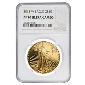 2013-W-1-oz-50-Proof-Gold-American-Eagle-NGC-PF-70-UCAM