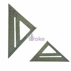 """Frugal 6"""" En Alliage D'aluminium Roofing Chevrons Vitesse Carré Triangle Angle Guide Toit-afficher Le Titre D'origine Pour Aider à DigéRer Les Aliments Gras"""