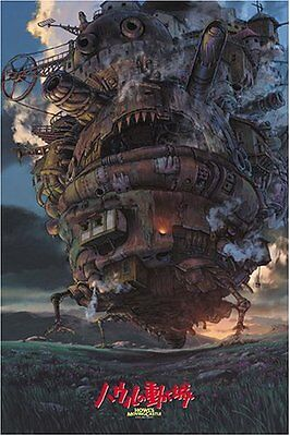 Ensky Jigsaw Puzzle 1000-243 Howl's Moving Castle Studio Ghibli (1000 Pieces)