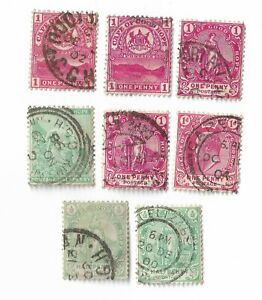 Cape-of-Good-Hope-postage-stamps-x-8-South-Africa