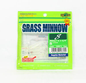 ecogear Soft Lure Grass Minnow S 1-3/4 Inch 12 piece per pack 228 (8695)