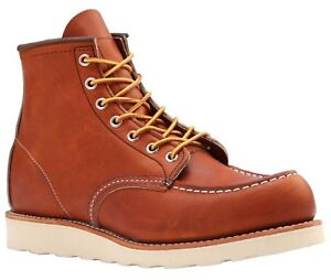Red-Wing-Oro-Moc-Toe-Classic-Boots-Free-Tin-Of-Mink-Oil-Free-Polishing-Cloth