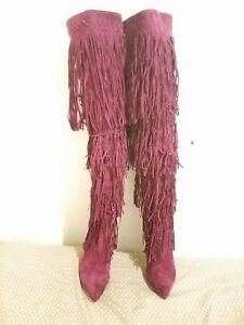 burgundy-suede-thigh-high-boots