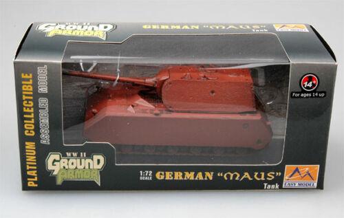 Easy Model 36203-1//72 WWII Deutscher tanques ratón-prototipo-nuevo