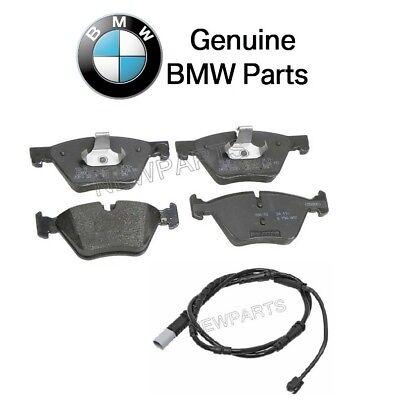 For Brand For BMW F10 5 Series Rear Brake Pad Set w// Wear Sensor Genuine