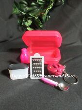 Tupperware NEW Mini Kit Pressure Cooker Keychain Mini Grater Ice Cream Magnet #5