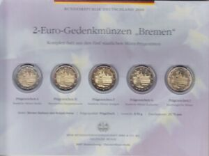 Frg-2010-Adfgj-Commemorative-Coins-Bremen-IN-Blister-Coin-Coin