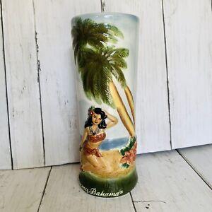 Tommy-Bahama-Tiki-Mug-Vacation-Vixen-2004-Hawaiian-Hula-Limited-Ed-Vintage-3D