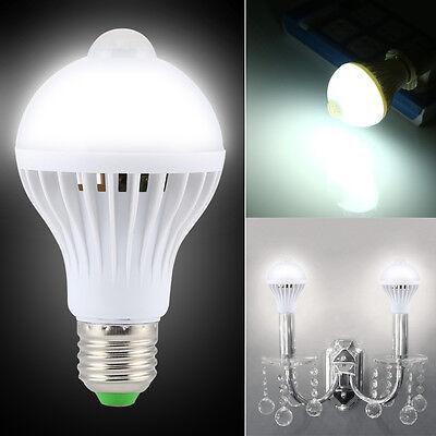 9W E27 Smart Lampe LED Bulb Birne Glühbirne PIR Bewegungsmelder Bewegungssensor