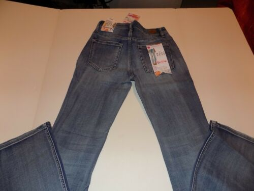 ALMOST FAMOUS DESTROYED AND PATCHED STRETCH BOOT CUT JEANS JR SZ 11 NWT