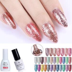 5-10ml-Born-Pretty-Glitter-UV-Gel-Nail-Polish-Soak-Off-Rose-Gold-Starry-Bling