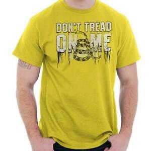 Tee Hunt American Serpent Muscle Shirt Dont Tread On Me Gadsden Flag